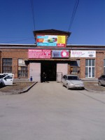"""Въезд на склад """"Бумеранг-Экспо"""" (раздвижные ворота)"""